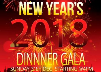 New Year's Dinner with the SOL Band Sunday Dec 31 2017